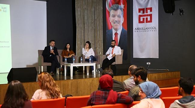 AGÜ'de Lösemili Çocuklar İçin Anlamlı Panel