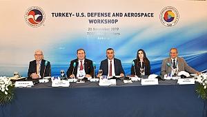 Başkan Büyüksimitci, Türkiye-ABD Savunma ve Havacılık Çalıştayı'da