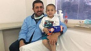 Kanser tedavisi gören minik Recep Safa, yaşama tutunamadı