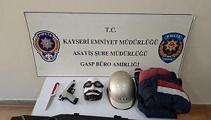 Maskeli gaspa 3 tutuklama