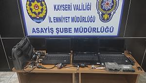 İş yerinden 25 bin lira değerinde hırsızlık yapan 2 kişi tutuklandı