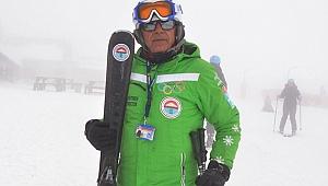 Kayak eğitmeni Değirmenci: 3 yaşından 80 yaşına kadar herkes kayak öğrenebilir