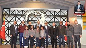 KTO Başkanı Gülsoy'dan İdeal Eğitim Koleji'ne Övgüler