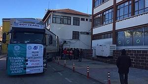 Odaların Yardım Tırları Deprem Bölgesine Ulaştı