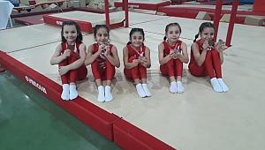 Analig Cimnastik'te Kayseri kız ve erkek takımları yarı finale yükseldi