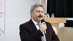 Başkan Palancıoğlu kariyer günlerinin konuğu oldu