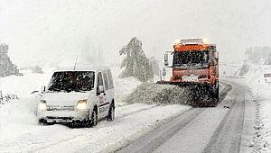 Kayseri'de 30 mahalle yolu ulaşıma kapandı