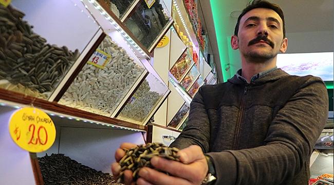 Kayseri'de çekirdeğe 'Korona virüs' darbesi