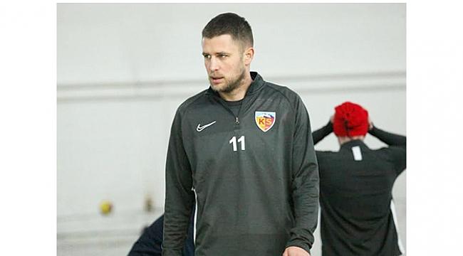 Kayserispor'un golcüsü Artem Kravets: