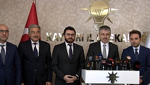 AK Parti'de 3 ilçe başkan adayı belli oldu