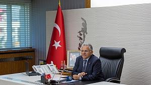 Başkan Büyükkılıç, 31 Mart seçimlerinin 1. yılında mesaj yayımladı