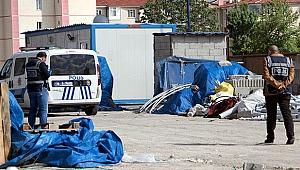 İnşaat bekçisi kulübede ölü bulundu