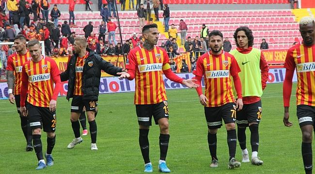 Kayserispor'un maç günleri belli oldu