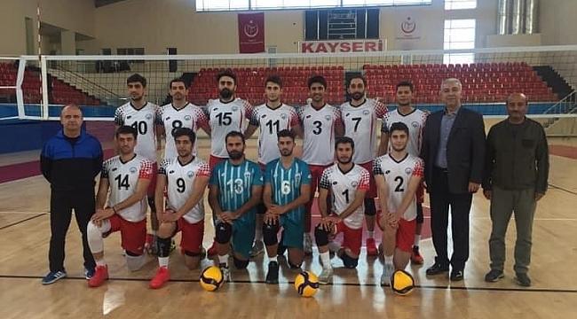 Melikgazi Belediyespor Voleybol takımı 1. Lig'e davet edildi