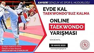 Online Taekwondo İl Şampiyonası Sona Erdi