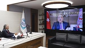 Sanayi ve Teknoloji Bakanı Mustafa Varank ile