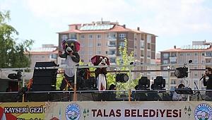 Talas'ta bayram başka güzel