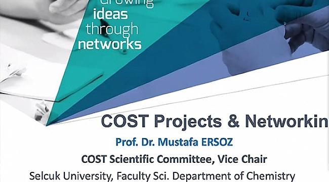 Erciyes Teknopark Tarafından COST Projeleri ile İlgili Çevrimiçi Bilgi Günü Düzenlendi