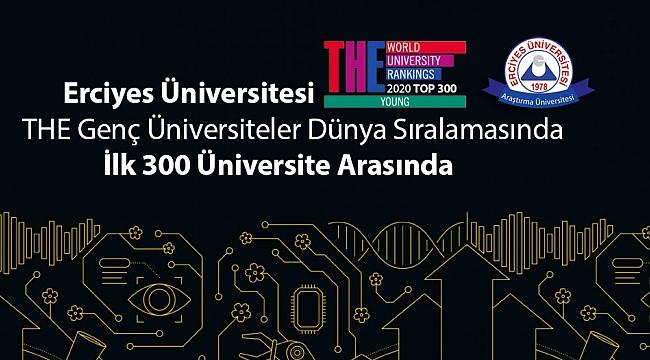 ERÜ, dünya sıralamasında ilk 300 üniversite arasında