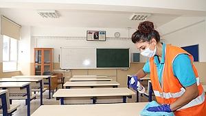 Talas'ta okullar sınavlara hazır