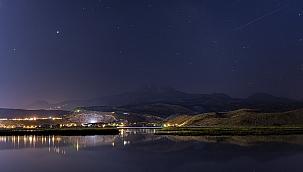 Erciyes'teki gece fotoğrafları büyük ilgi gördü