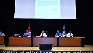 Kayseri Büyükşehir Meclisi toplandı