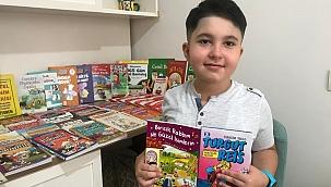 8 yaşındaki kitap kurdu çocuk, 3 ayda 78 kitap okudu