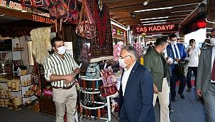 Başkan Büyükkılıç, uyarılarına Erciyes'te devam etti