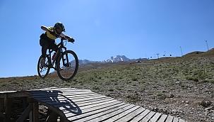 Erciyes bisikletçilerinde gözdesi