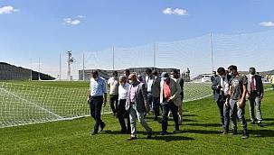 Erciyes Yüksek İrtifa Kamp Merkezi'ndeki 2 saha açılıyor