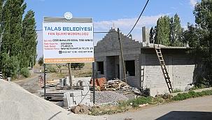 Kırsal mahallelerde sosyal tesis atağı