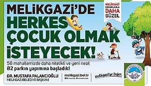 """Başkan Palancıoğlu: """"58 park diye başladık, 82'e ulaştık"""""""