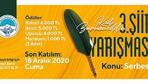 Büyükşehir'den anlamlı şiir yarışması