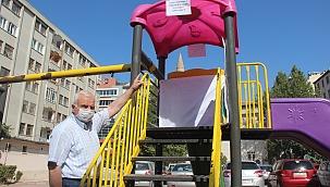 Çocuk parklarına yasaklama