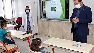 Kayseri'de öğrencilere uygulamalı sağlık eğitimi