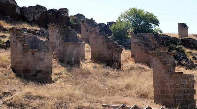 Kayseri'de tarihi güvercinlikler restore edilecek