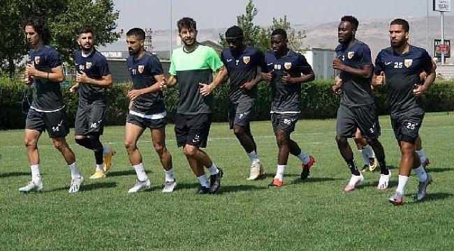 Kayserispor'da Alanyaspor maçı hazırlıkları başladı