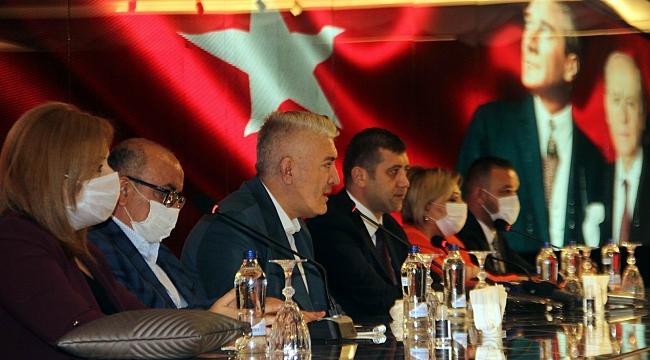 MHP Kayseri Milletvekili Ersoy 81 ilden talep almış