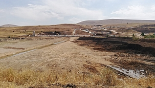 Pınarbaşı Planlı Barajı çalışmaları devam ediyor