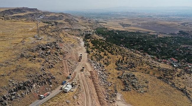 Şehrin kuzeyine 'Dev Yol' yatırımı