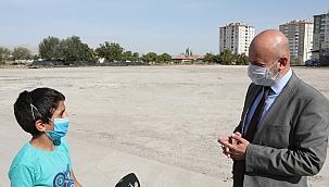 Başkan Çolakbayrakdar'dan park atağı