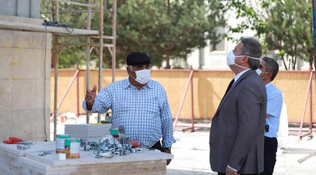Belediye- hayırsever işbirliği ile Melikgazi'ye 3 yeni yatırım