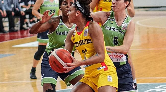 Bellona Kayseri Basketbol: 62 - Nesibe Aydın Basketbol: 70
