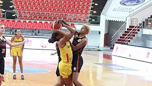 Bellona Kayseri Basketbol: 74 - Galatasaray: 79