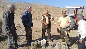 Kaçak avlanan 5 kişiye 19 bin 635 TL para cezası kesildi