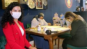 Kadın girişimci hobi olarak yaptığı işte KOSGEB desteğiyle kendi markasını kurdu