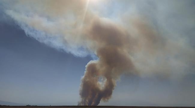 Kuş cenneti Sultan Sazlığı'nda yangın