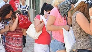 Kayseri'de fuhuş yapıldığı tespit edilen 5 rezidans odası ile 7 ev kapatıldı