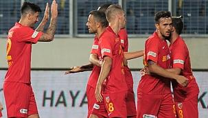 Kayserispor ligin en az gol atan takımı
