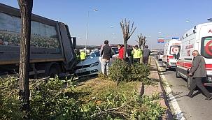 Kaza yapan sürücü görevlileri suçladı